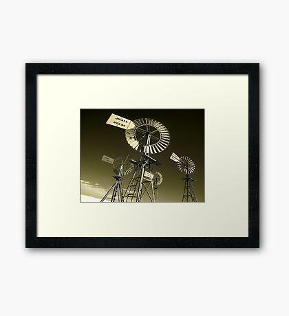 Mechanoid Madness - Metal Monster Menagerie 3 Framed Print