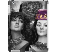 She's the One in the Purple Hat.. iPad Case/Skin