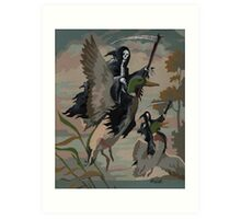 Fowl Deaths Art Print