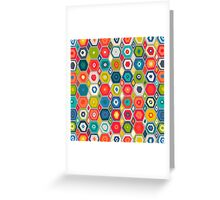 squid hex Greeting Card