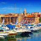 Marseille Vieux Port by jean-louis bouzou