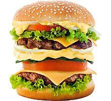 Hamburger Photographic Print