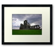 Whitby Abbey #2 Framed Print