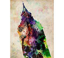 London Big Ben Urban Art Photographic Print