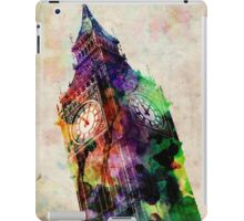 London Big Ben Urban Art iPad Case/Skin