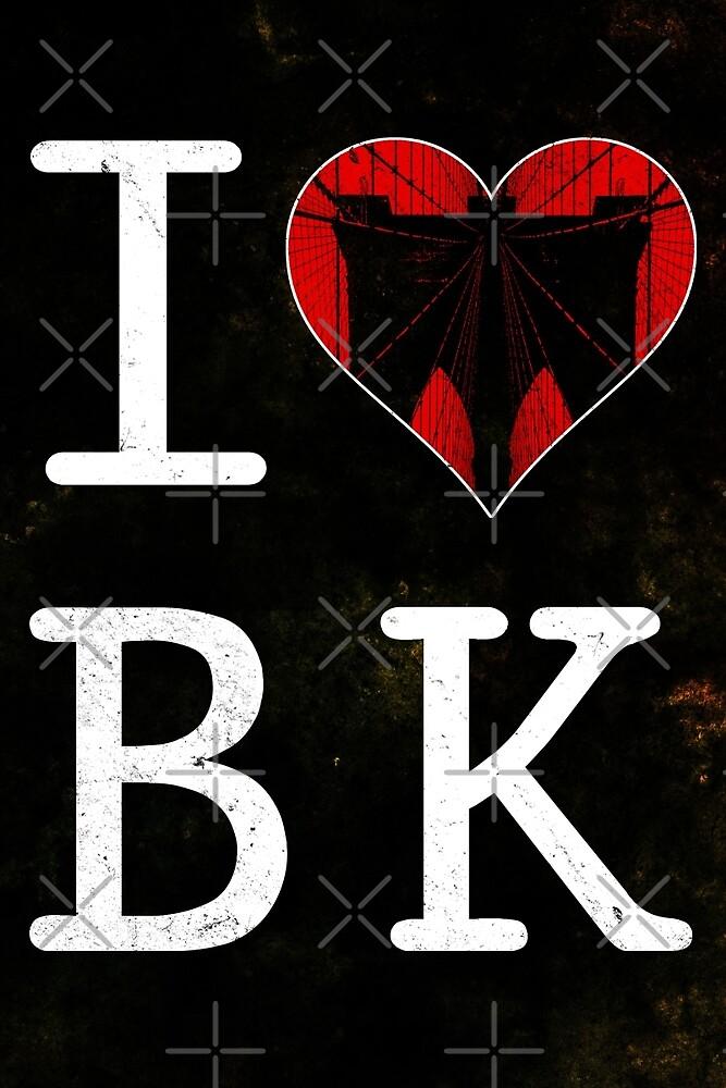 I Love Brooklyn, BK by icoNYC
