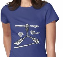 The TIME FLUX CAPACITOR!! Womens Fitted T-Shirt