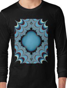 BLUE LACE # 2 Long Sleeve T-Shirt