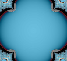 BLUE LACE # 2 Sticker