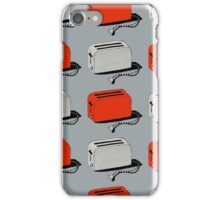 Toaster (red & grey) iPhone Case/Skin
