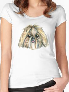 Shih Tzu Women's Fitted Scoop T-Shirt