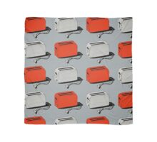 Toaster (red & grey) Scarf