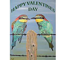 HAPPY VALENTINES DAY Photographic Print