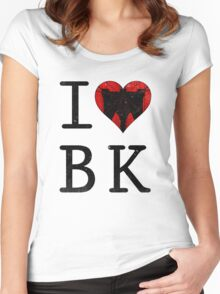 I Love Brooklyn BK, NY Women's Fitted Scoop T-Shirt