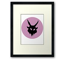 Library Geek - Horror Framed Print