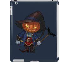 Jack-o-lantern in a hat iPad Case/Skin