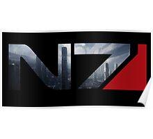 Mass Effect N7 Citadel Poster