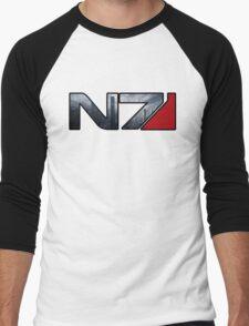 Mass Effect N7 Citadel Men's Baseball ¾ T-Shirt