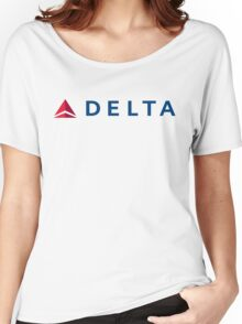 Delta Airlines Women's Relaxed Fit T-Shirt