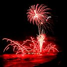 Cromer Pier Fireworks 2 by Norfolkimages