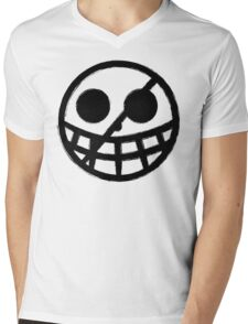 Doflamingo Jolly Roger Mens V-Neck T-Shirt