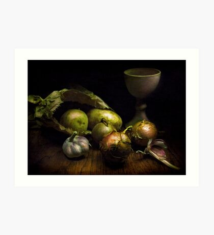Still Life with Vegetables Art Print