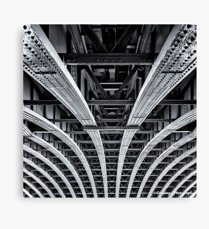 Monochrome - Geometry Canvas Print