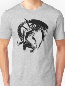 Alien Black & White T-Shirt