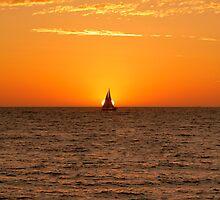 Sail Across the Sunset by Sandra Chung