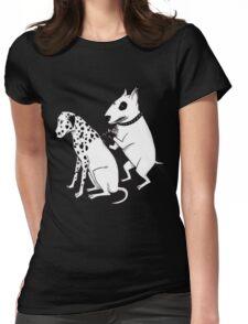 Pittbul tattooing Dalmatian Womens Fitted T-Shirt