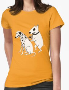 Pittbul tattooing Dalmatian Womens Fitted T-Shirt