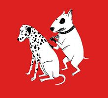 Pittbul tattooing Dalmatian Unisex T-Shirt