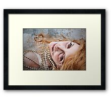 Death Of The Madame: Framed Print