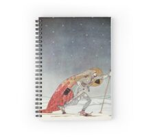 'So the man gave him a pair of snow shoes' Spiral Notebook