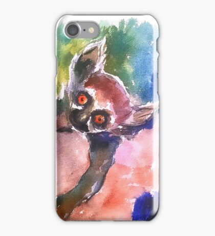 Mommy and Baby Lemur iPhone Case/Skin