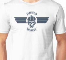 Sportster Sickness Plain White Unisex T-Shirt