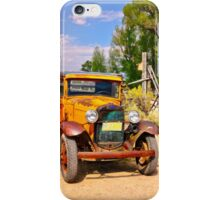 1931 Montana Power Company Service Truck iPhone Case/Skin