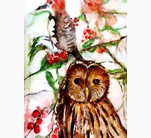 Owl in the Snow T-Shirt