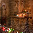 Candlelit Altar by latitude54photo