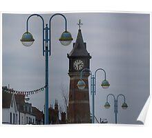 Clock Tower - Skegness Poster