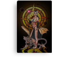 Keeper of the Power Canvas Print