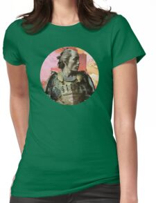 """Japanese Warrior (2) - """"o"""" Womens Fitted T-Shirt"""