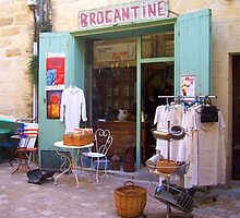 Secondhand Shop in Uzes by magicaltrails