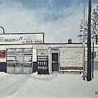 Lave-Auto Du Port on Wellington St. by rebfrost