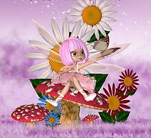 Someone Special Birthday Card With Sugar Plum Fairy  by Moonlake