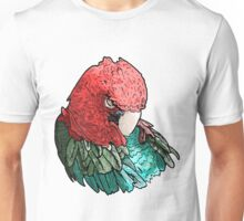 Sleeping Macaw Unisex T-Shirt