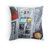 along ravens path Throw Pillow