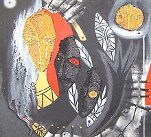 snake shaman by arteology