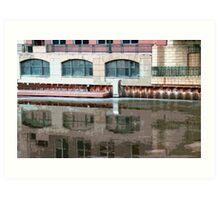 Reflection of Milwaukee River ©  Art Print