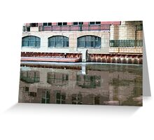 Reflection of Milwaukee River ©  Greeting Card